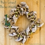 DIY Multi-Strand Burlap Wreath