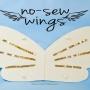 DIY No Sew Wings