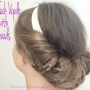 Easy Hair Tuck Updo With Braids
